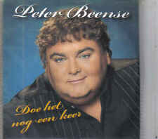 Peter Beense-Doe Het Nog een Keer promo cd single