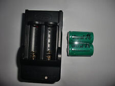 ICR123A CR123A 3V Uwe lithium 2 BATTERY RECHARGEABLE charger for surefire