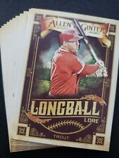 2020 Topps Allen & Ginter Longball Lore Insert You Pick Complete Your Set