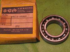 SUZUKI TS185 TM125 RM125 GT185 TC125 COUNTER SHAFT R. BEARING OEM # 08113-60060