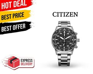 Citizen Eco-Drive Men's Chronograph Watch New Free Shipping Fast With Tracking