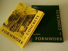 Formwork For Concrete By M.K. Hurd, Fifth Edition Hard Cover Great Shape Clean