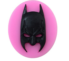 Máscara De Batman Glaseado Silicona Molde hornear pastel de chocolate Topping azúcar Artesanales Hazlo tú mismo