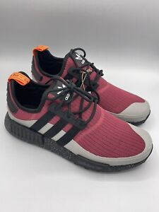 Adidas Original NMD_R1 Trail Men's Shoes '' Wild Pink Black '' [FX6811] New