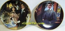 Strolling in Atlanta & Frankly My Dear ~ Gone With the Wind Mini Plate Set MIB