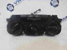 Volkswagen Golf MK5 2003-2009 Heater Controls Switch Panel 1k2820045