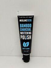 Mr Blanc Teeth Charcoal Toothpaste - Natural Teeth Whitening Polish - 25ml