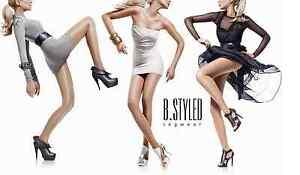 B.STYLED Feinstrumpfhose sheer glossy shiny Pantyhose 40 DEN