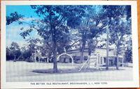 Brookhaven, Long Island, NY 1940s Postcard: Better 'Ole Restaurant - New York