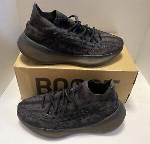 Size 10 - adidas Yeezy Boost 380 Onyx Non-Reflective 2020 - FZ1270