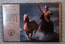 Cowboy Wyoming Magnet Souvenir Travel Refrigerator