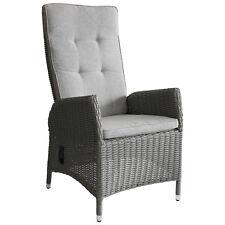 Polyrattan Gartensessel Rattansessel Loungesessel Relaxsessel Grau meliert/Grau