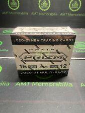 2020/21 20/21 Panini Prizm SEALED Cello Multi-Pack Box RWB (Lot of 12 PACKS)