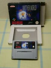 Another World for Super Nintendo (SNES) Pal, Boxed