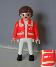 PLAYMOBIL (Y3202) HOPITAL - Homme Médecin Ambulancier 4221