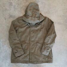 GAP 225739 Military Green Parka / Anorak w/ Removable Hood sz L nwt
