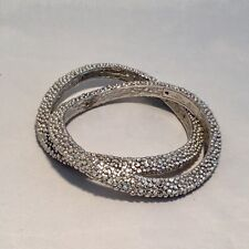 Roberto Coin Ruthenium Plated Sterling Silver Bracelet NWT $910 retail
