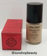 Shiseido Synchro Skin Glow Luminizing Fluid Foundation Neutral 3 (N3) 10ml