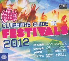Clubbers Guide To Festivals 2012 (3CDs) (2012) Ministry of Sound, Used CDs, VGC