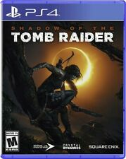 Sony Ps4 PlayStation 4 Game Shadow of The Tomb Raider