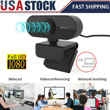 HD 1080P Webcam 4K w/Microphone USB Camera For PC/Mac Laptop Desktop Video Call