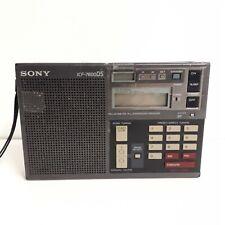 Radio SONY ICF-7600DS portable, piles ou secteur, FM/LW/MW/SW/AM
