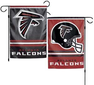 Atlanta Falcons Garden Flag 2 Sided Outdoor Window Yard Banner New