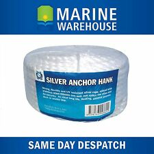 Anchor Hank 120M x 10mm Marine Rope 120 Metres W/ Stinaless Steel Thimble 106224