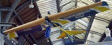 Volmer VJ-23 Swingwing Foot Launch Glider Aircraft Desktop Wood Model Big New