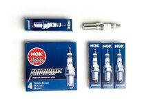 NGK IRIDIUM IX SPARK PLUGS FOR 1992-1995 HONDA CIVIC DX LX D15B7 D15 1.5L SOHC