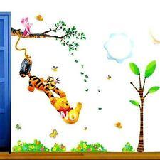 Winnie the Pooh Wall Sticker Nursery tigger Piglet LARGE  TC6005