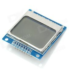 New Nokia 5110 LCD Module Blue Backlight Adapter PCB for Arduino (84*48 LCD)