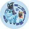 24 Disney Jr Puppy Dog Pals Stickers Round Labels for Bag Lollipop Party Favors