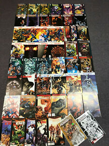 Lot (50) ULTIMATE MARVEL COMICS End Doom Vision + (1) Signature & (1) Variant