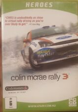 COLIN MCRAE RALLY 3 HEROES CODEMASTERS BIG BOX PC CD-ROM GAME CDROM RACING CARS