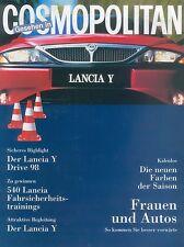 LANCIA Y in Cosmopolitan 1998 brochure auto macchine fuoristrada Italia Auto prospetto opuscolo