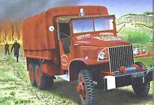 Heller 1:3 5 (81119): AUTOCARRO GMC POMPIER (Kit di costruzione)
