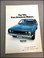 1970 AMC Vintage Sales Brochure Catalog - Javelin Hornet Ambassador Rebel AMX