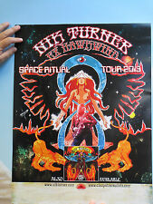 NIK TURNER -  ( Ex Hawkwind ) Space Ritual Tour Poster Space Gypsy