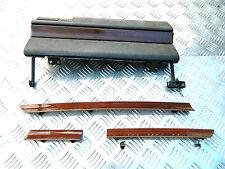 habillage tableau de bord + boite à gants ronce de noyer mercedes w124 / w 124