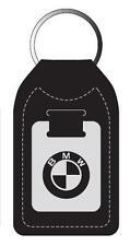 BMW Leather Medallion Keyfob/Keychain 1,3,5,7 Series, X5, X3, M5, M6 *NEW*