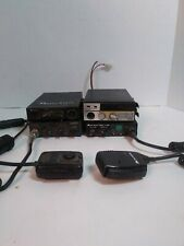 4 Cb Radios midland cobra uniden 2 with handles not tested