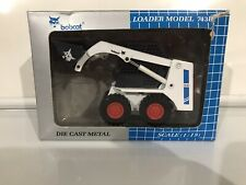 Bobcat Loader Model 743B - Die Cast Metal 1:19 Scale Toy - Moveable Bucket NIB