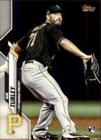 2020 Topps Update Nik Turley Base RC #112 - Pittsburgh Pirates