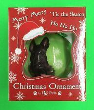 "Scottie - E&S Pets - Christmas Ornament - 3"" Shatterproof Ball - CBO-35"