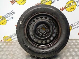 "Vauxhall Corsa C 2000-2005 14"" Steel wheel & Tyre 7.01mm 195/60/14"