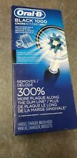 Oral-B Black 1000 Power Rechargeable Toothbrush Powered - Sealed