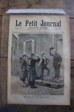 Petit journal illustré N°77 1892 - Billet de Logement Salon 1892 Le Dénicheur