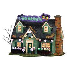 Dept 56 Halloween 2014 Glares & Stares House #4036590 NIB FREE SHIPPING 48 STATE