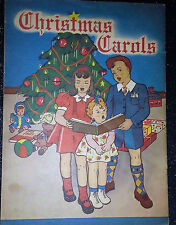 Vintage Christmas Carol Song Book Nice Condition